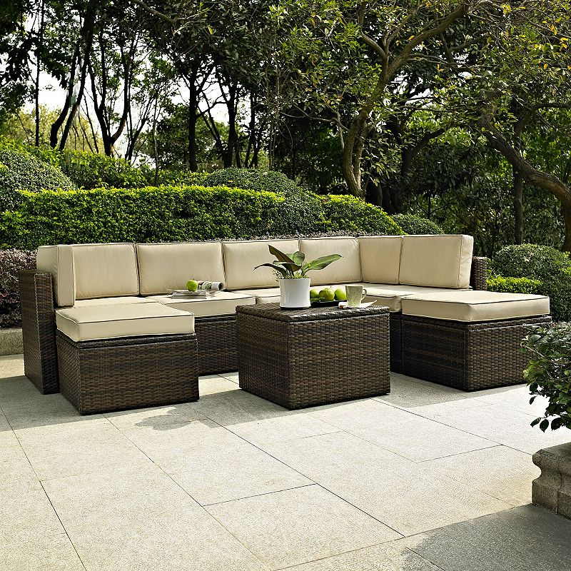 Palm Harbor Faux Wicker Seating 8-piece Set
