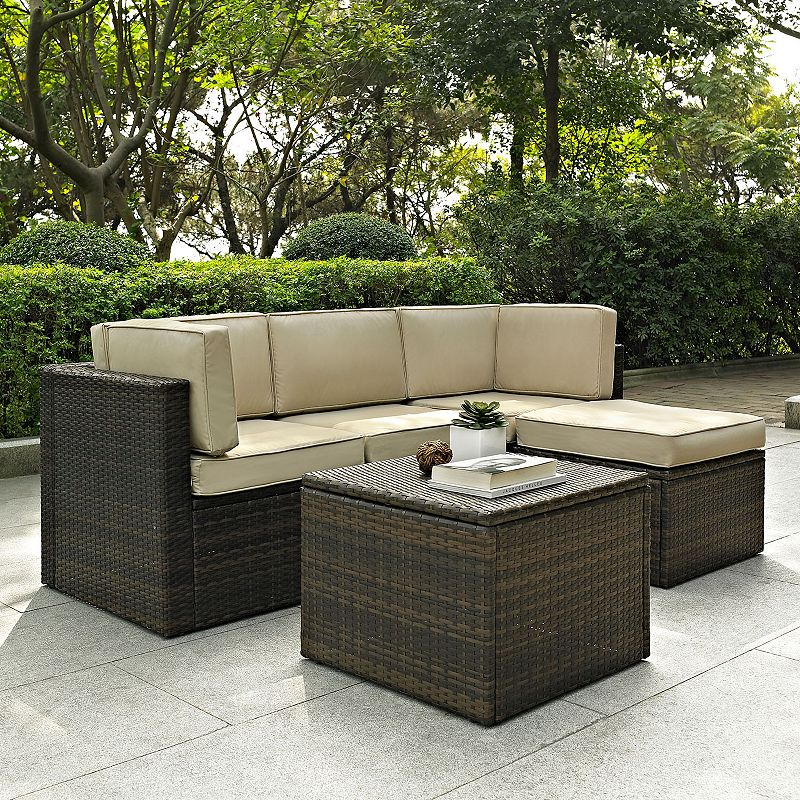 Palm Harbor Faux Wicker Seating 5-piece Set
