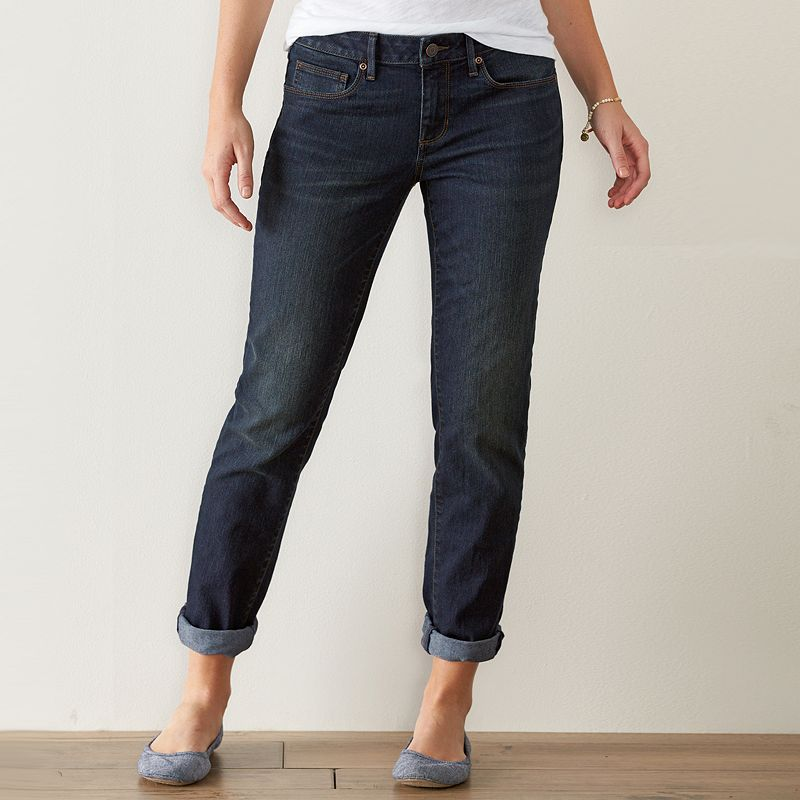 Women's SONOMA Goods for Life™ Faded Boyfriend Jeans