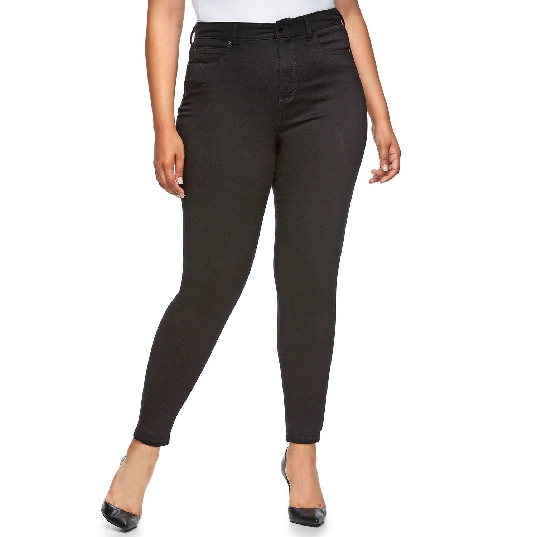 Plus Size Jennifer Lopez High-Rise Skinny Jeans