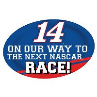 Tony Stewart Jumbo Race Day Magnet