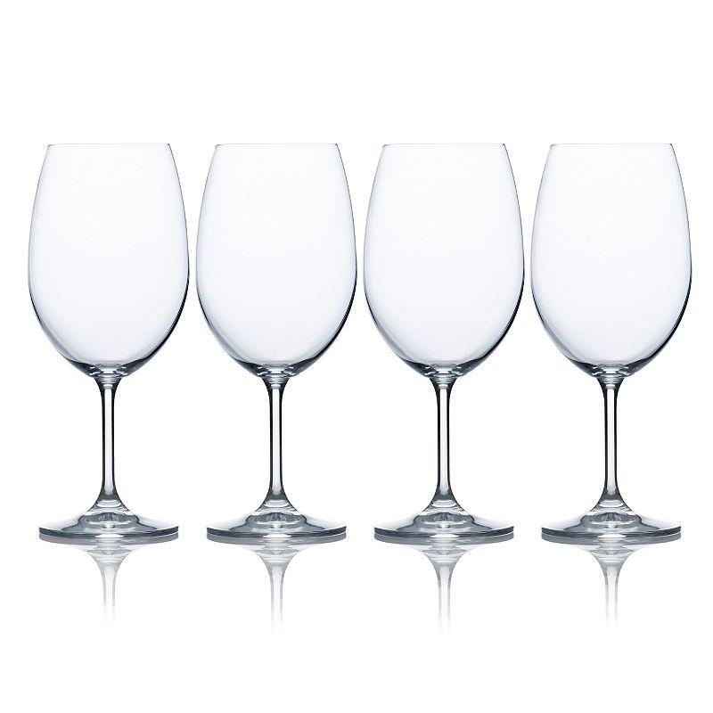 Mikasa Laura 4-pc. Red Wine Glass Set