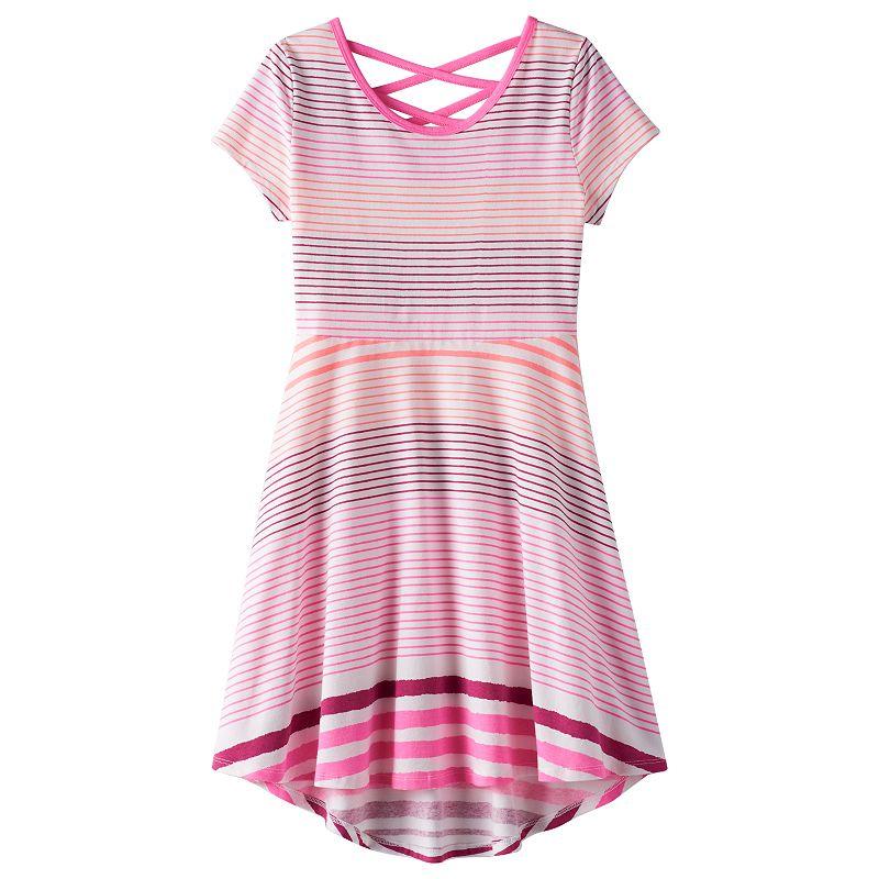 Girls 7-16 & Plus Size SO® Cross-Back Dress