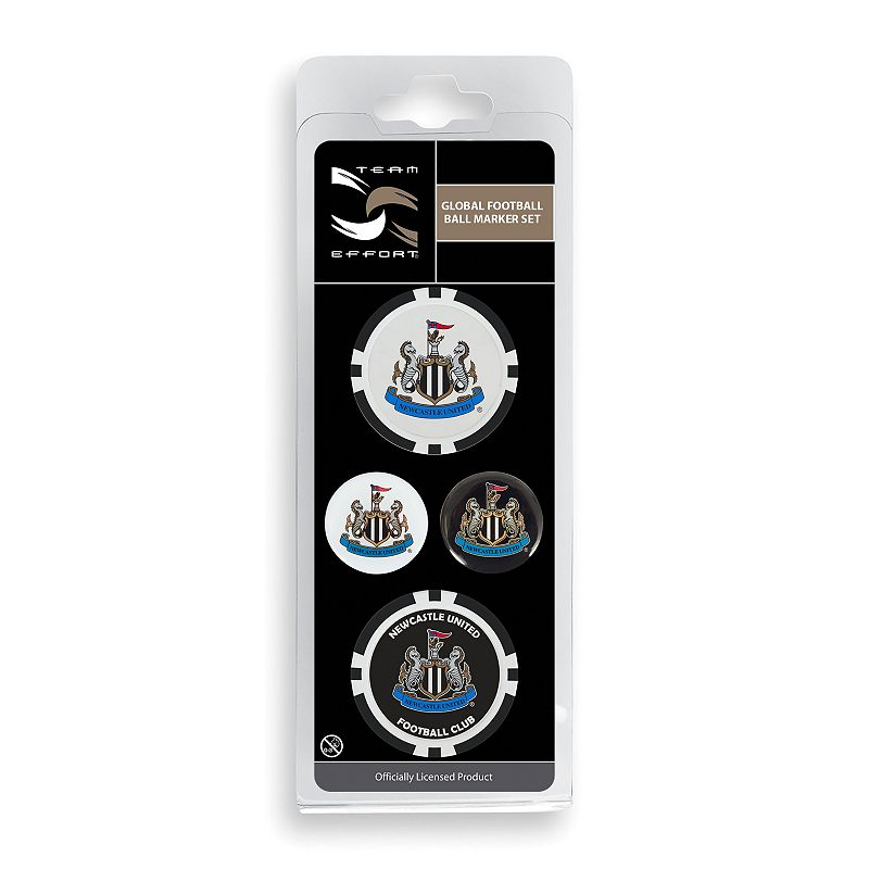 Team Effort Newcastle United FC Golf Ball Marker Set