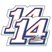 Tony Stewart 2-Pack Jumbo Number Decal Set