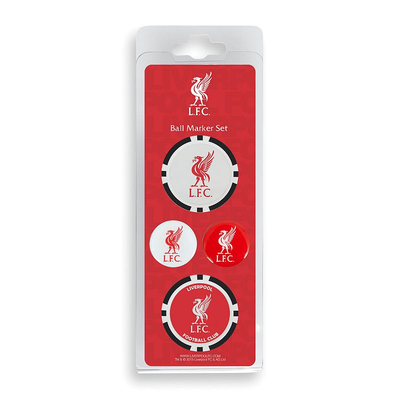 Team Effort Liverpool FC Golf Ball Marker Set
