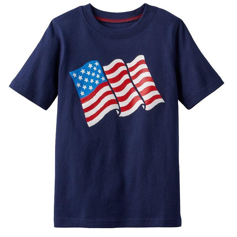 Boys 4-7x Jumping Beans® America Graphic Tee
