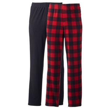 Men's 2-pack Microfleece Lounge Pants