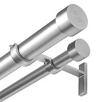 Umbra Cappa Adjustable Double Curtain Rod