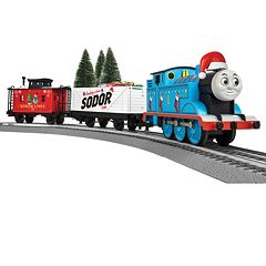 Thomas the Tank Engine Christmas Freight Train Set by Lionel Trains by