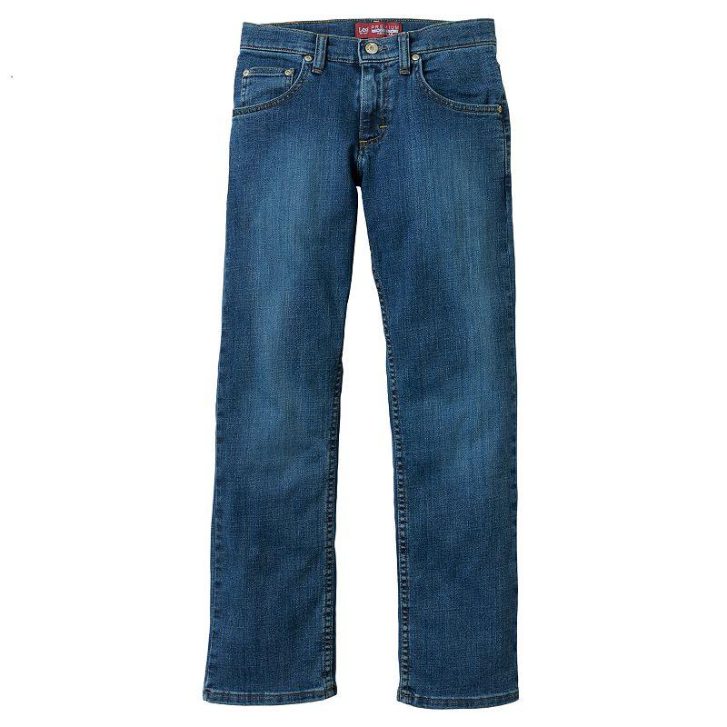 Boys 8-20 Lee Regular-Fit Straight-Leg Jeans