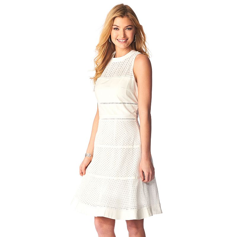 Women's Indication by ECI Illusion Fit & Flare Dress