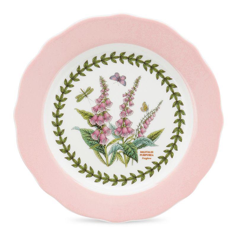 Portmeirion Botanic Garden Terrace 4-pc. Scalloped Dessert Plate Set