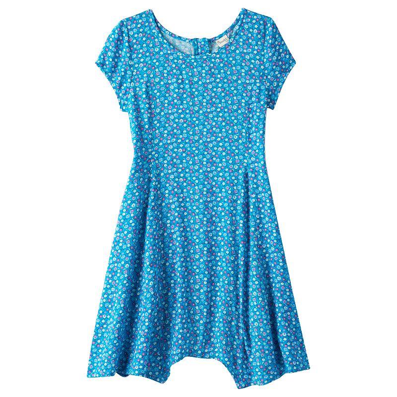 Girls 7-16 & Plus Size Mudd® Handkerchief Dress