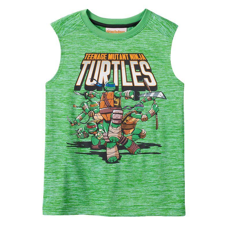 Boys 4-7 Teenage Mutant Ninja Turtles Space-Dyed Muscle Tee