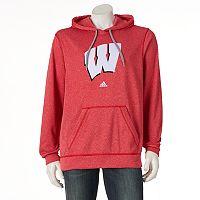 Men's adidas Wisconsin Badgers Preferred Patch Hoodie
