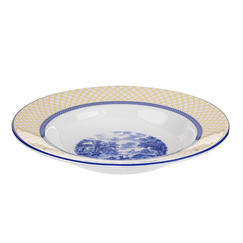 Portmeirion Giallo 4-pc. Soup Plate Set