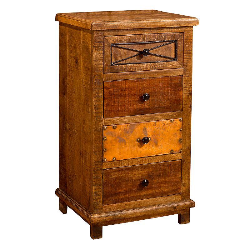 Hillsdale Furniture Belina X-Design 4-Drawer Cabinet