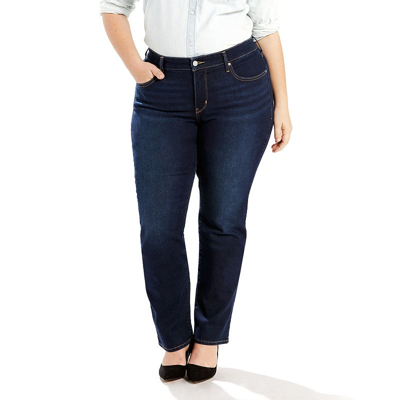 Plus Size Levi's 314 Shaping Straight-Leg Jeans