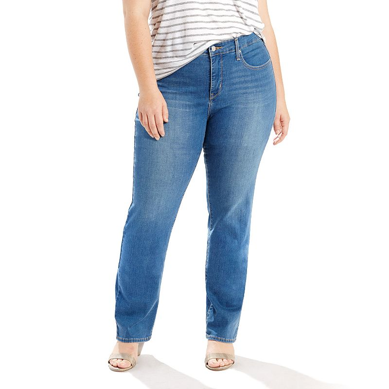 Plus Size Levi's 314 Shaping Straight-Leg Jeans