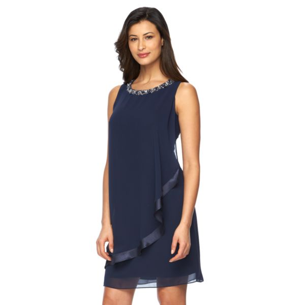 Women's Expo Draped Shift Dress