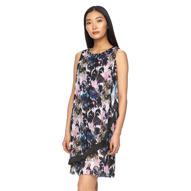Women's Expo Embellished Floral Shift Dress