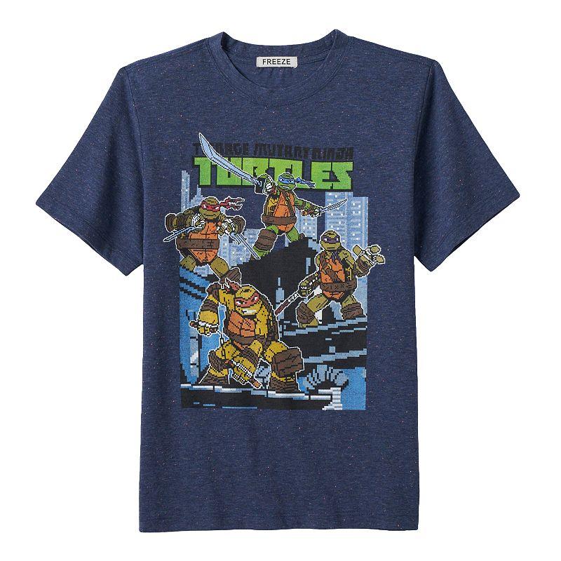 Boys 4-7 Teenage Mutant Ninja Turtles Pixelated Graphic Tee