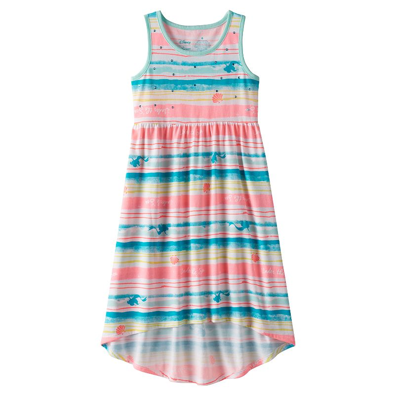 Disney's The Little Mermaid Ariel Girls 4-7 High-Low Maxi Dress by Jumping Beans®