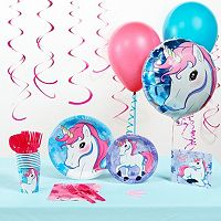 Enchanted Unicorn Deluxe Party Kit