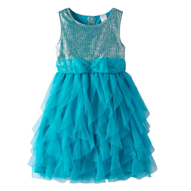 Disney's The Little Mermaid Girls 4-7 Cascade Tulle Dress by Jumping Beans®