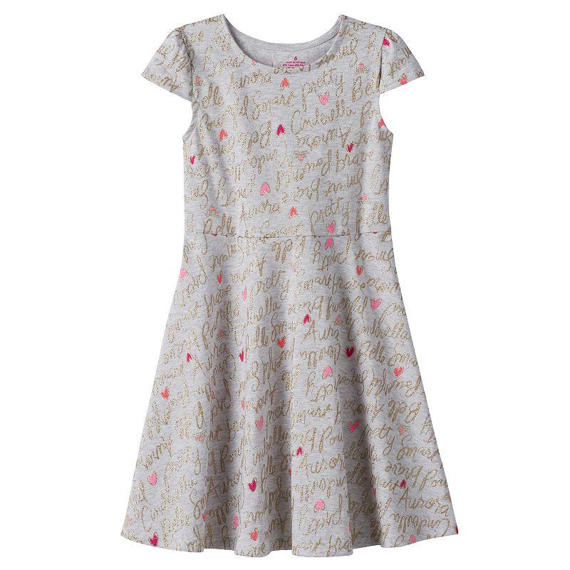Disney Princess Toddler Girl Glitter Skater Dress by Jumping Beans®