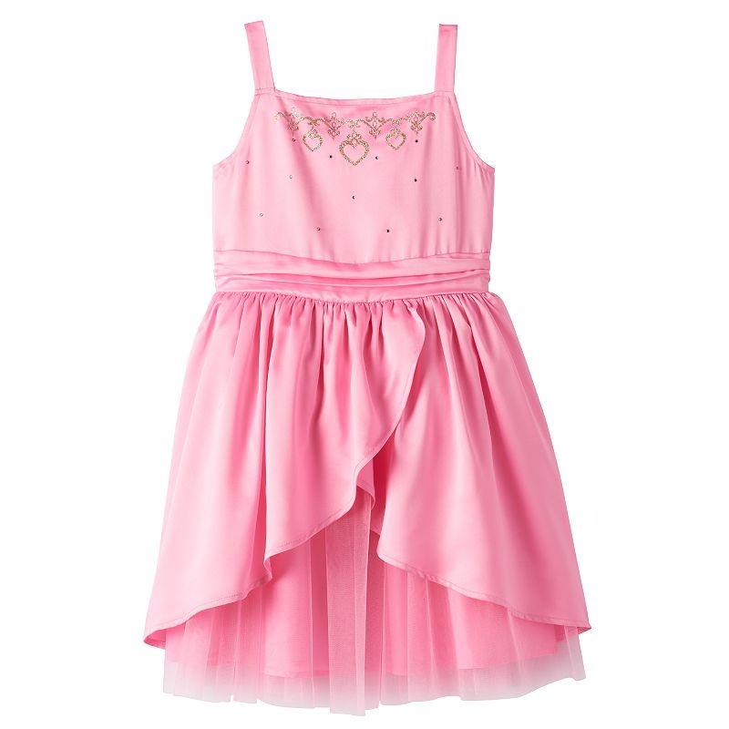 Disney Princess Toddler Girl Satin Tulip-Hem Taffeta Dress by Jumping Beans®