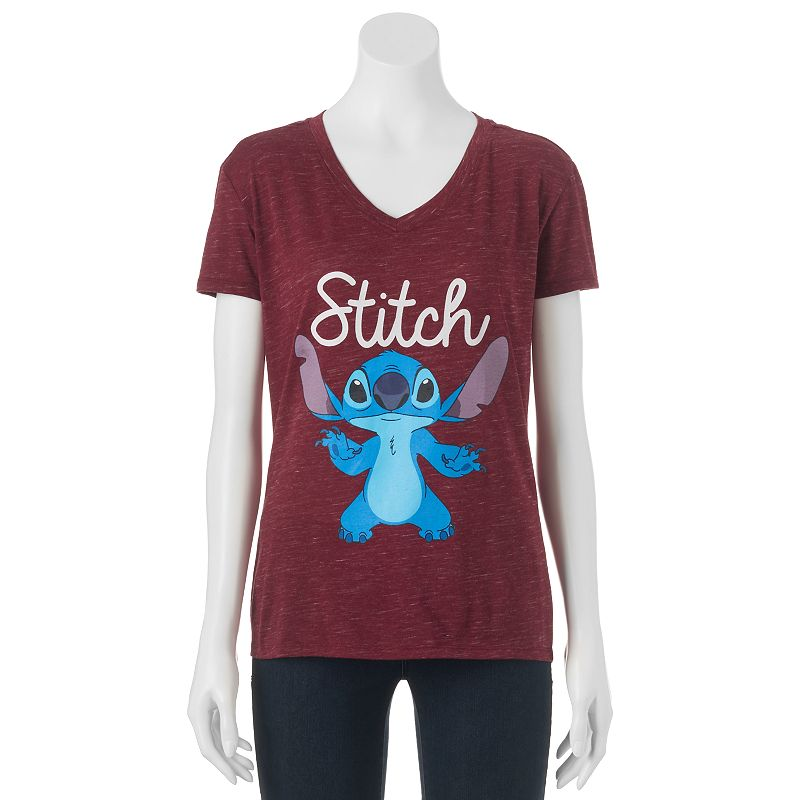 Disney's Juniors' Lilo & Stitch High-Low Graphic Tee