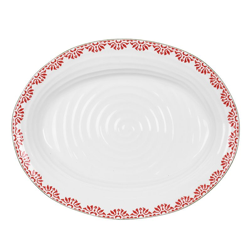 Portmeirion Sophie Conran Christmas Medium Oval Platter