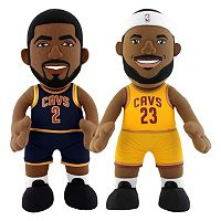 Bleacher Creatures Cleveland Cavaliers Dynamic Duos Kyrie Irving & LeBron James Plush Figure Set