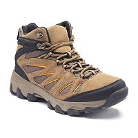 Croft & Barrow Ortholite Men's Hiking Boots (Tan / Gray / Brown)