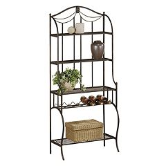 Hillsdale Furniture Camelot Storage Baker's Rack by
