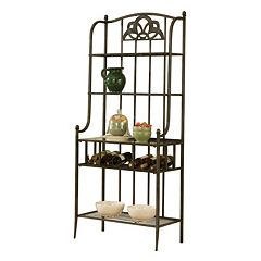 Hillsdale Furniture Marsala Storage Baker's Rack by