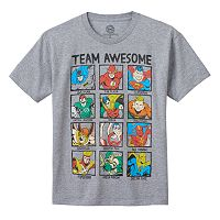 Boys 8-20 DC Comics Justice League Team Awesome Tee
