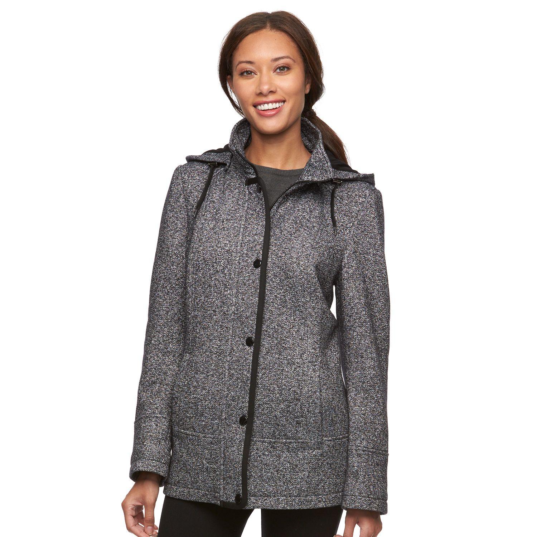 Womens Croft & Barrow? Hooded Fleece Jacket