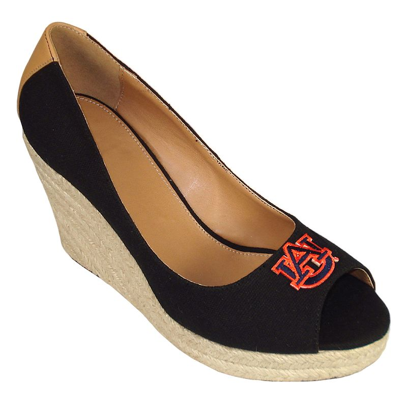 Women's Campus Cruzers Auburn Tigers South Park Platform Wedge Heels