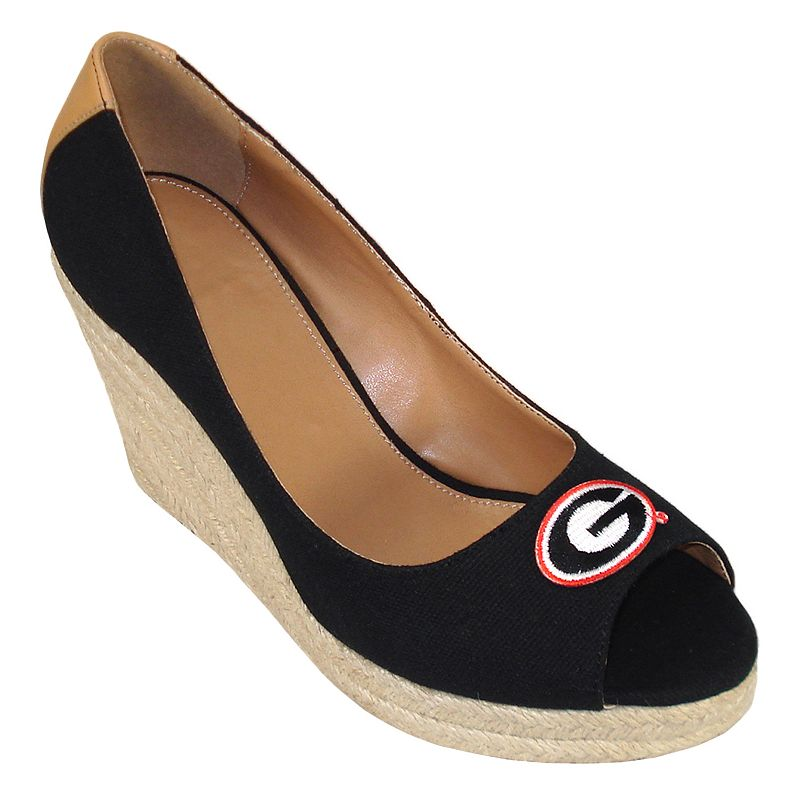 Women's Campus Cruzers Georgia Bulldogs South Park Platform Wedge Heels