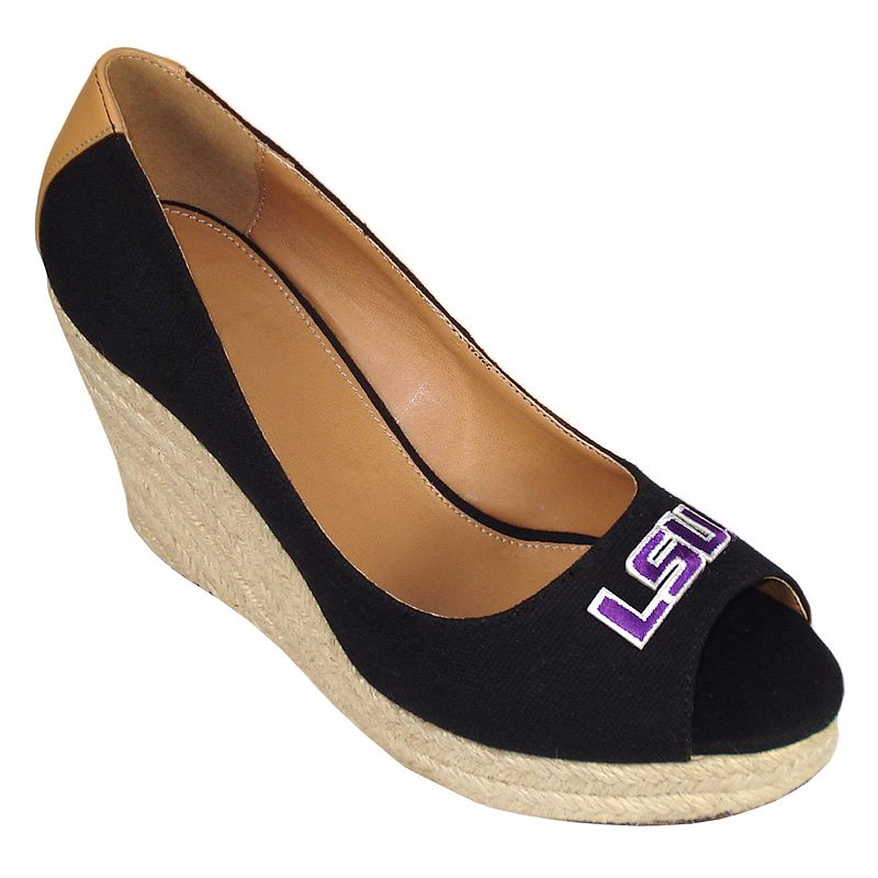 Women's Campus Cruzers LSU Tigers South Park Platform Wedge Heels