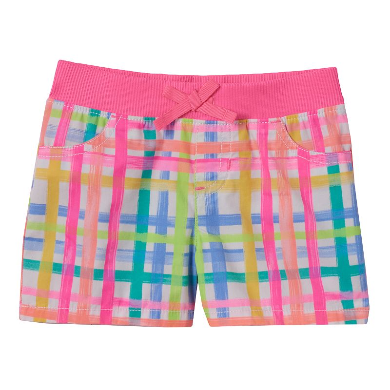 Toddler Girl Jumping Beans® Plaid Shorts