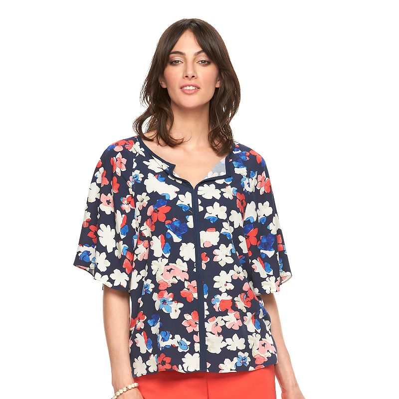 Women's ELLE™ Draped Dolman Top