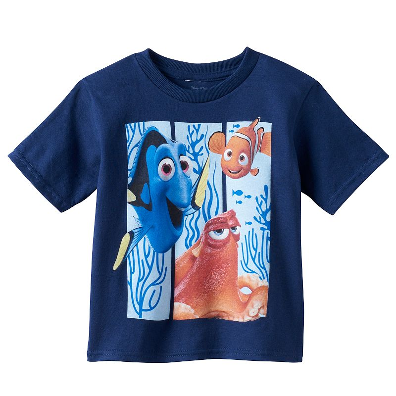 Disney / Pixar Finding Dory Toddler Boy Pop-Out Graphic Tee