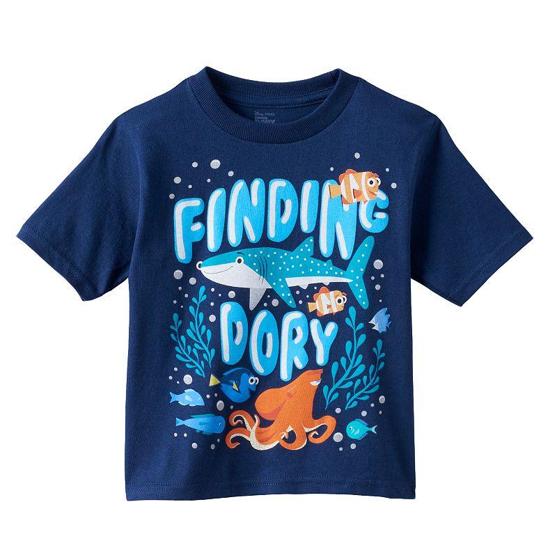 Disney / Pixar Finding Dory Toddler Boy Cartoon Graphic Tee