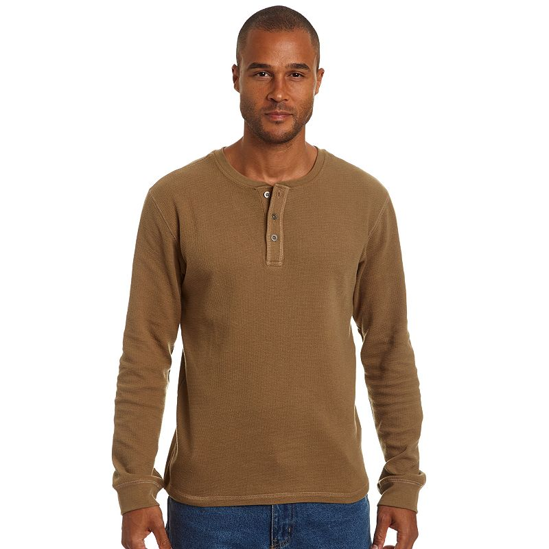 Men's Stanley Classic-Fit Waffle-Knit Henley