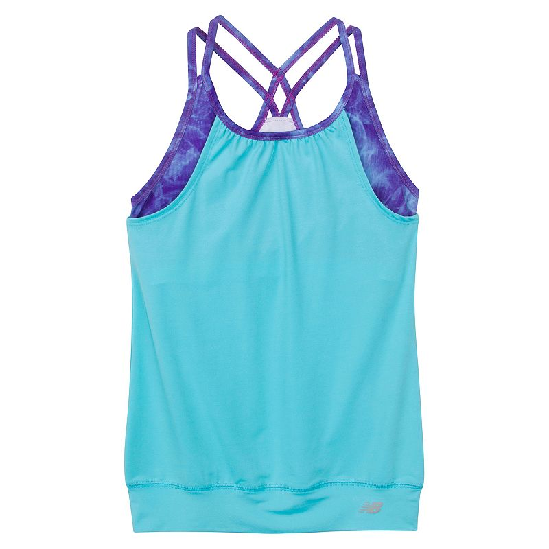 Girls 7-16 New Balance Print Bralette Tank Top