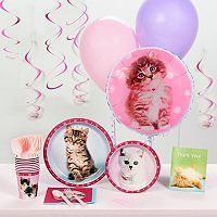 Rachaelhale Glamour Cats Deluxe Party Supplies for 16